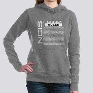 NCIS Gibbs Rules Hooded Sweatshirt